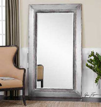 Load image into Gallery viewer, Oversized Silver Wall Mirror