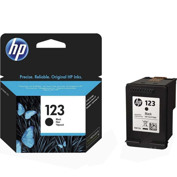 HP 123 Black Ink