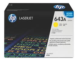 HP 643A Yellow Original Toner Cartridge
