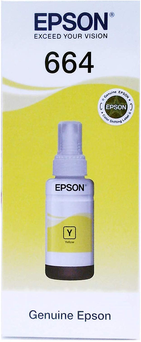 Epson T6644 Inkjet Cartridge - Yellow