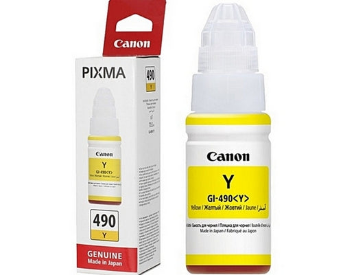 Canon GI-490 Bottle Yellow Ink