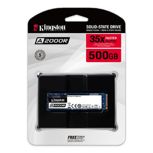 Kingston A2000 SSD M.2 500GB