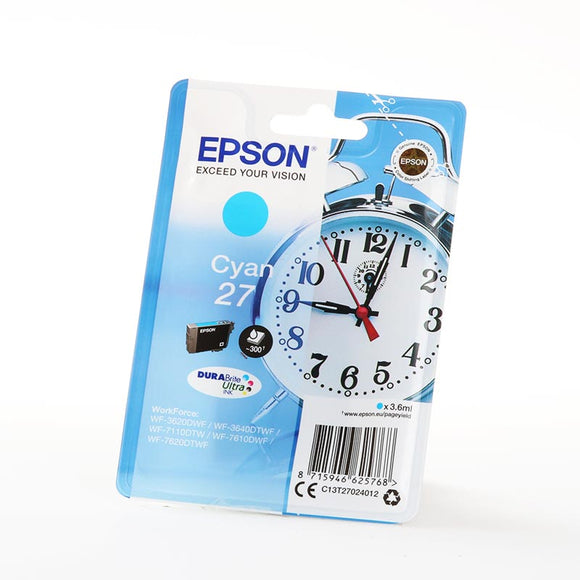 EPSON T2702 Cyan Ink Cartridge