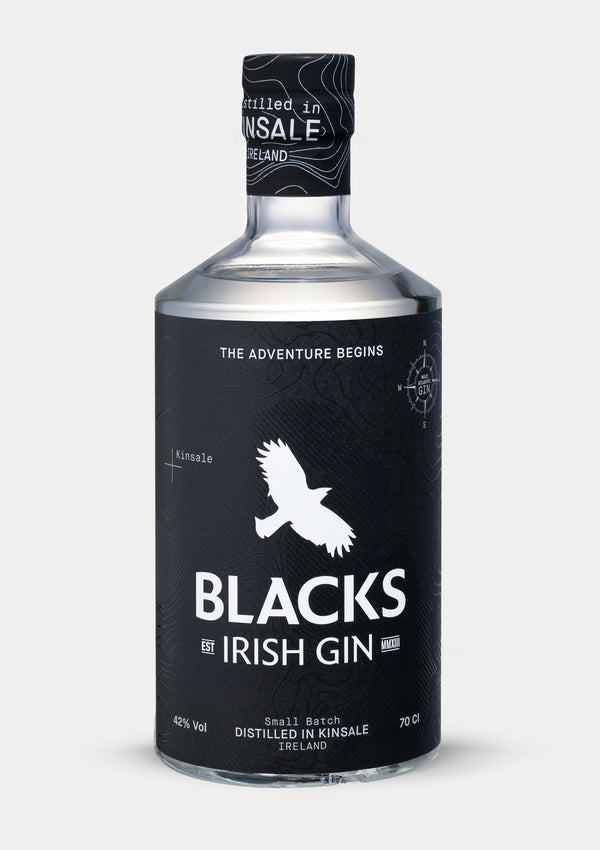 Blacks Irish Gin | JMJ Imports | Premium Irish Gins, Whiskeys, Liqueurs & Mixers now available in Australia.