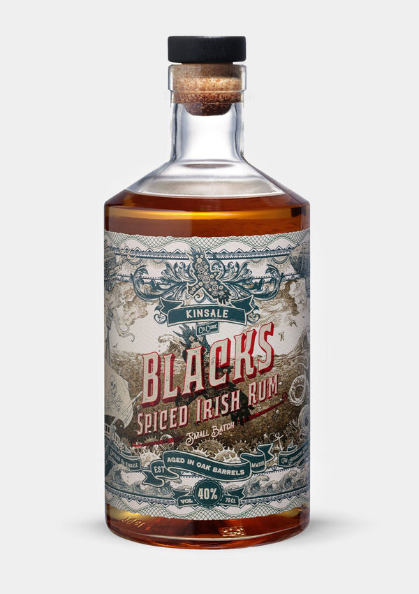 Blacks Spiced Irish Rum | JMJ Imports | Premium Irish Gins, Whiskeys, Liqueurs & Mixers now available in Australia.