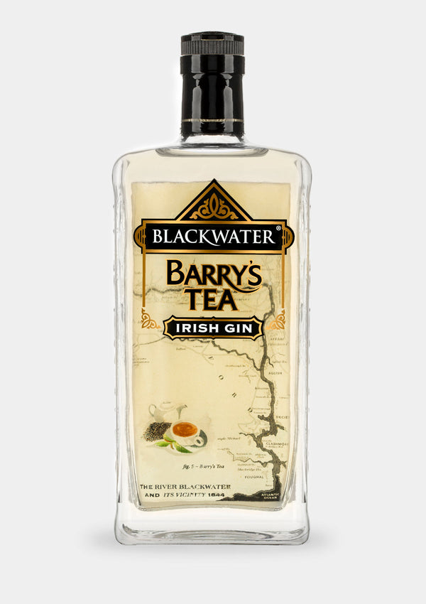 Blackwater Barry's Tea Gin | JMJ Imports | Premium Irish Gins, Whiskeys, Liqueurs & Mixers now available in Australia.
