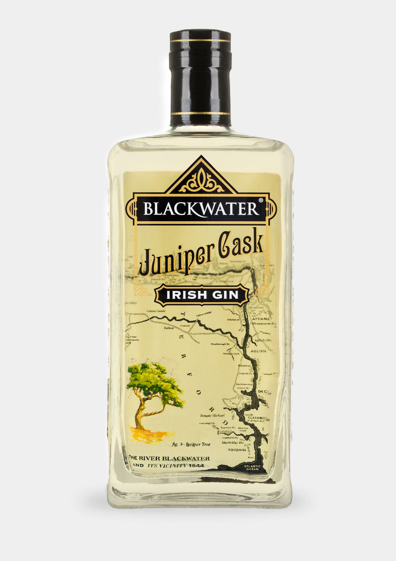 Blackwater Juniper Cask Gin | JMJ Imports | Premium Irish Gins, Whiskeys, Liqueurs & Mixers now available in Australia.
