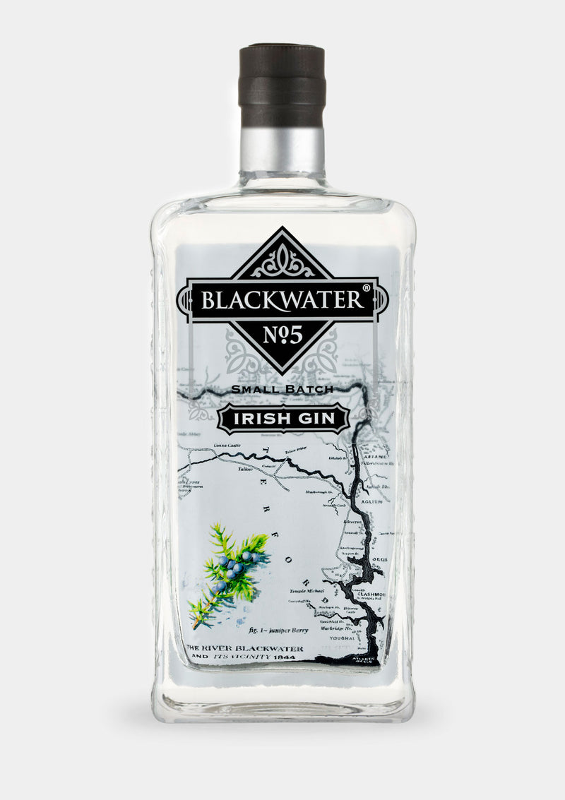 Blackwater No.5 Small Batch Irish Gin | JMJ Imports | Premium Irish Gins, Whiskeys, Liqueurs & Mixers now available in Australia.