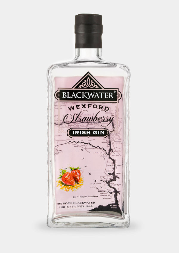 Blackwater Wexford Strawberry Gin | JMJ Imports | Premium Irish Gins, Whiskeys, Liqueurs & Mixers now available in Australia.