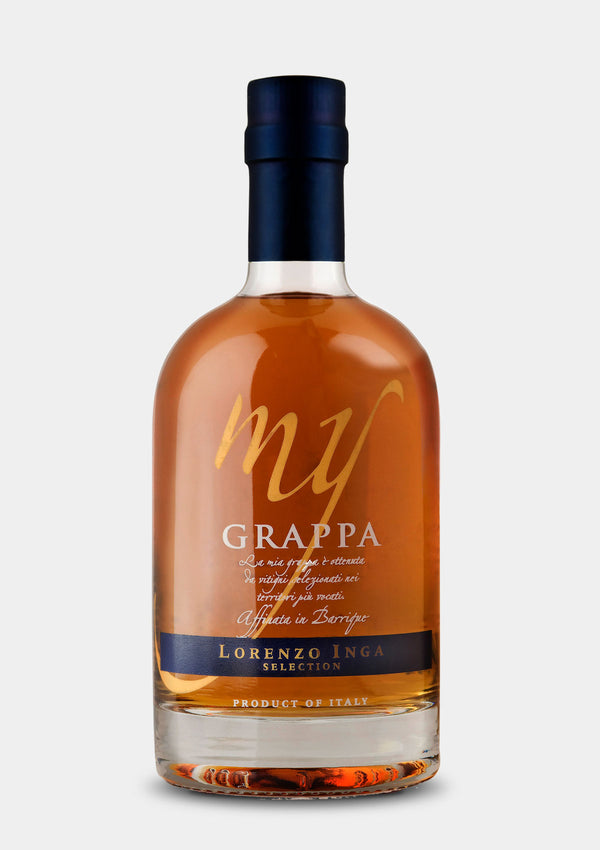 My Grappa | JMJ Imports | Premium Irish Gins, Whiskeys, Liqueurs & Mixers now available in Australia.