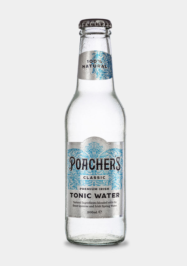 Poacher's Classic Irish Tonic | JMJ Imports | Premium Irish Gins, Whiskeys, Liqueurs & Mixers now available in Australia.
