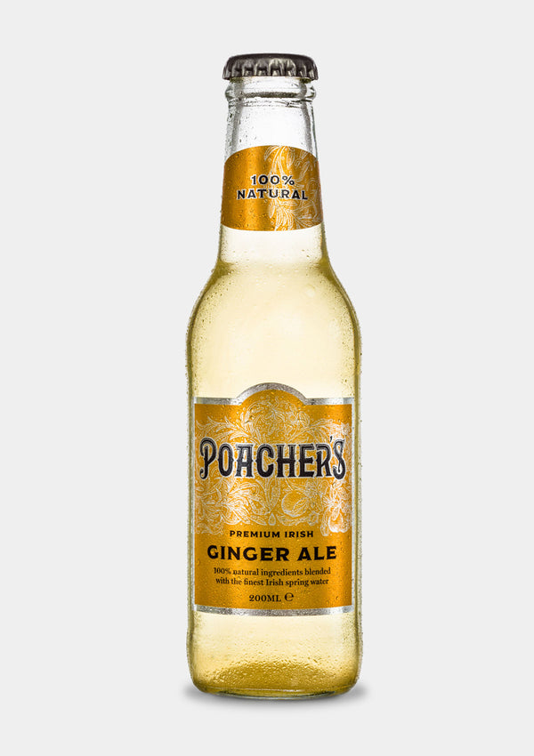 Poacher's Irish Ginger Ale | JMJ Imports | Premium Irish Gins, Whiskeys, Liqueurs & Mixers now available in Australia.