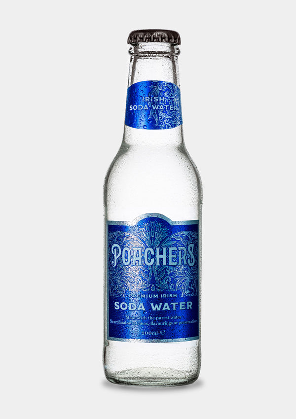 Poacher's Irish Soda Water | JMJ Imports | Premium Irish Gins, Whiskeys, Liqueurs & Mixers now available in Australia.