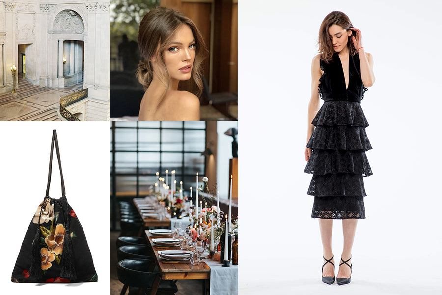 Wedding guest outfit inspiration for a city hall wedding