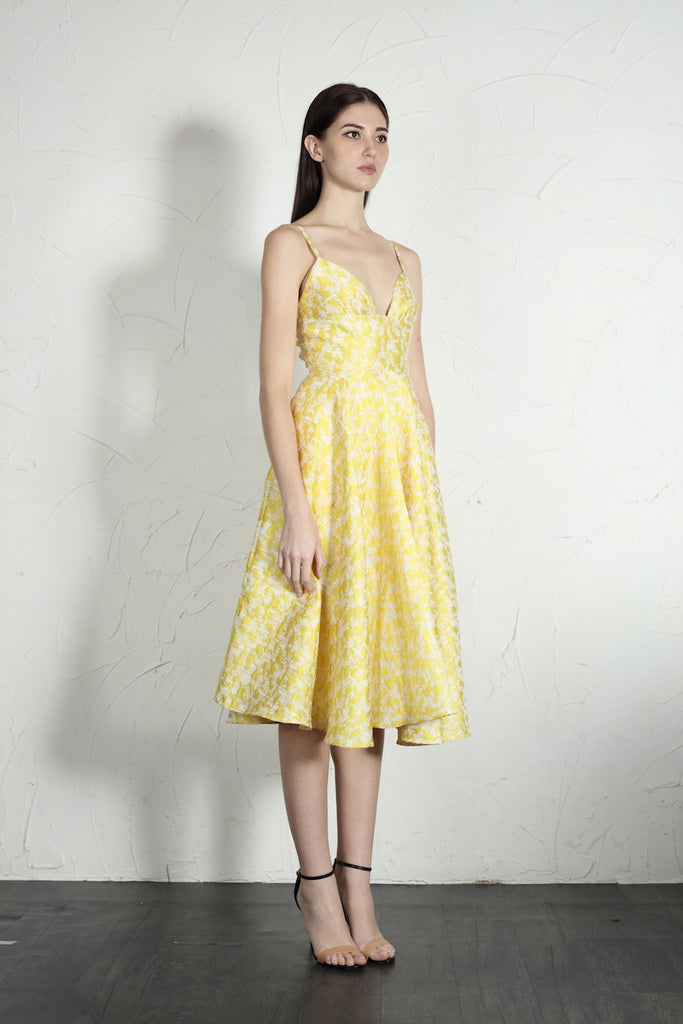 Mia Dress (Yellow)