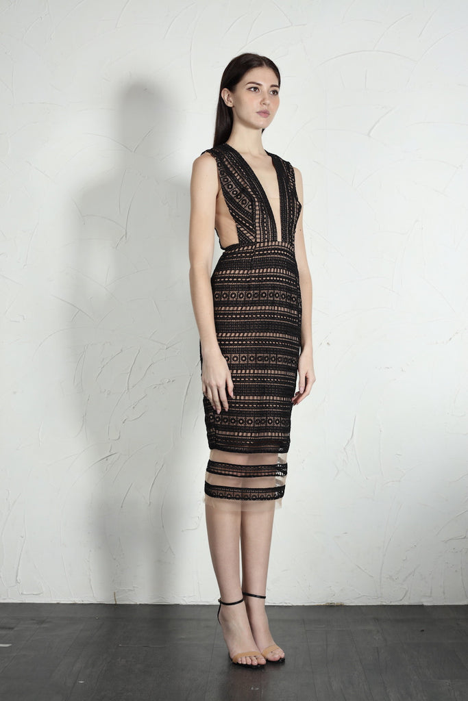 Kendall Dress (Black)