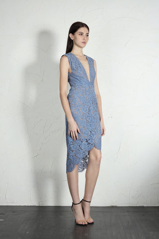Chloe Dress (Blue)