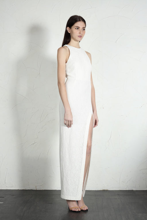 Gemma Gown (White) - SAU LEE