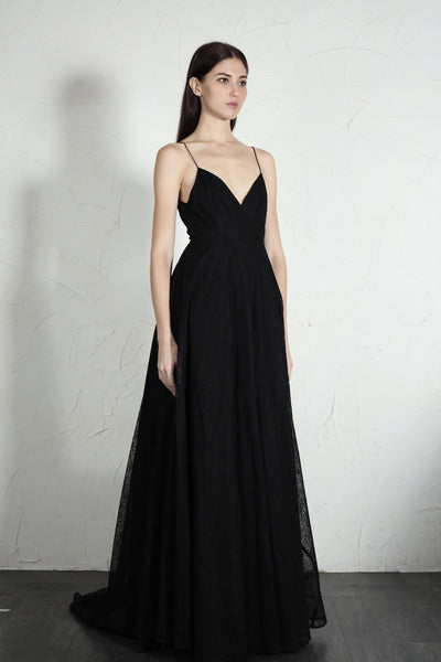 Clara Lace Gown - SAU LEE