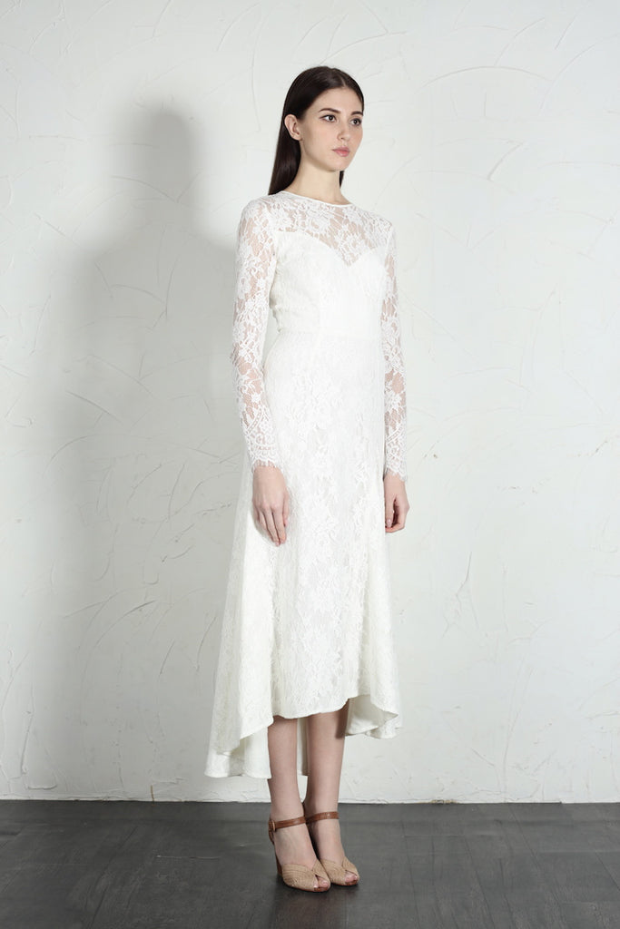 Sloane Dress (White)