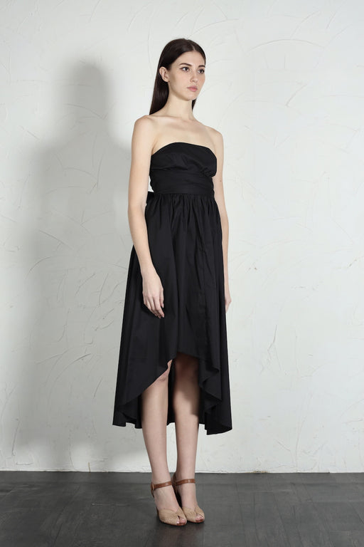 Marylin Strapless Cotton Dress - SAU LEE