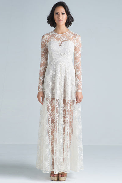 Ella Lace Maxi Dress - SAU LEE