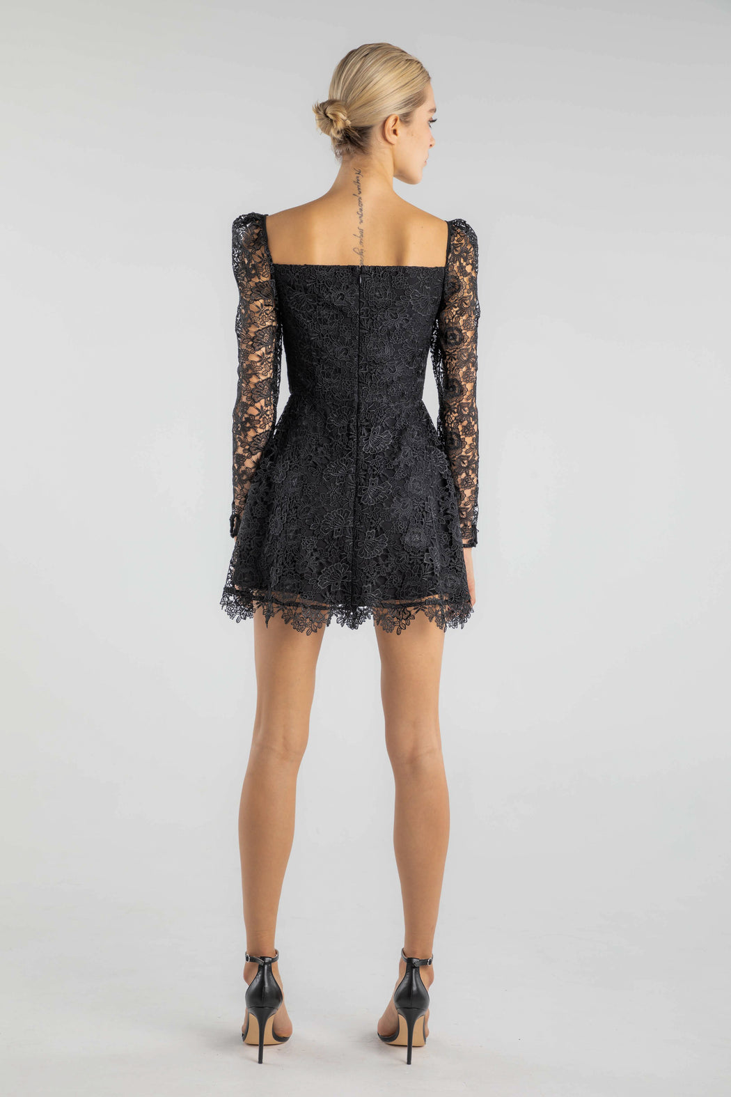 Colette Lace Mini Dress - SAU LEE