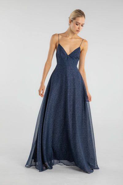 Evelyn Sparkle Chiffon Gown - SAU LEE
