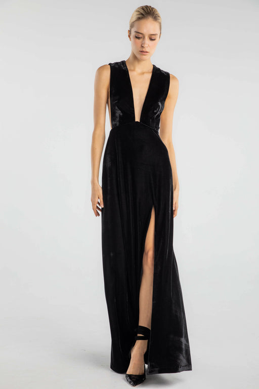 Genevie Velvet Gown