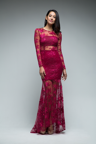 Anya Gown (Red)