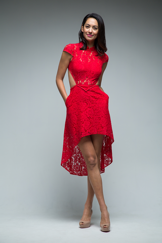 Cara Dress (Red)