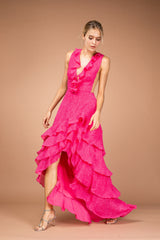 Tatjana gown in pink