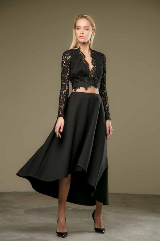 Adalyn Skirt (Black) - SAU LEE