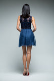 Bella Dress (Navy)