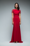 Gwen Backless Gown (Red)