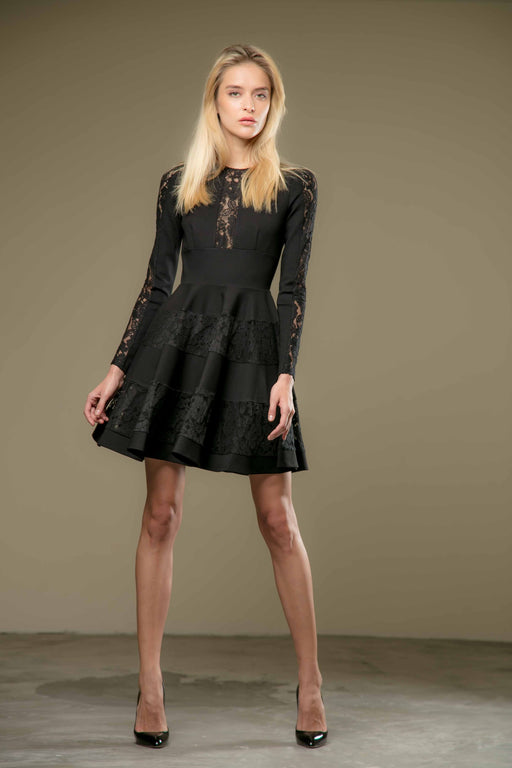 Lela Dress (Black) - SAU LEE