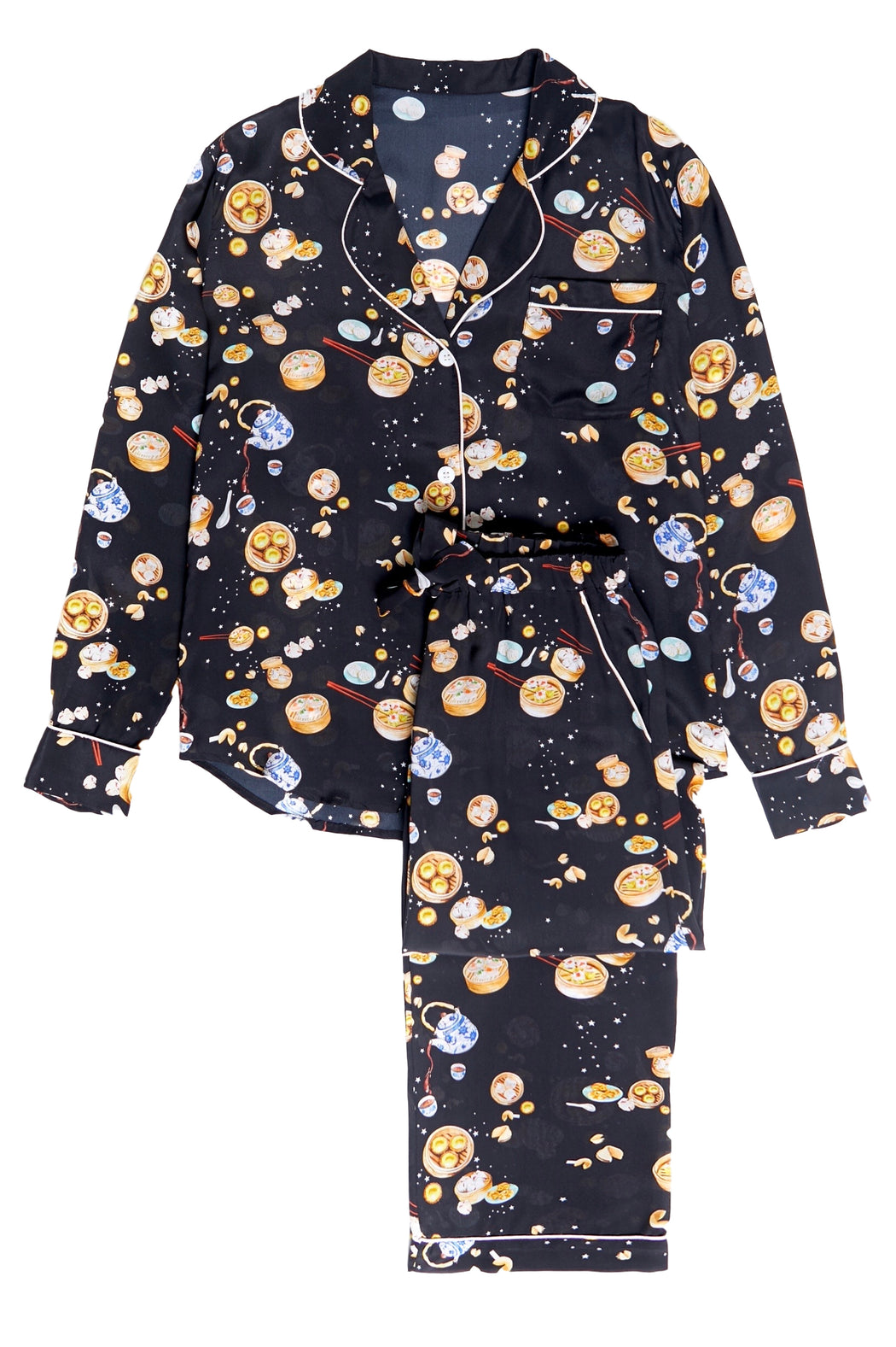 Limited Edition Silk Pajama Set