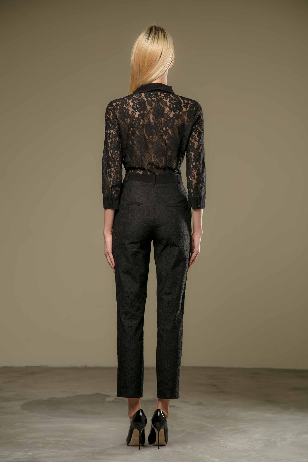 Zoe Lace Jumpsuit - SAU LEE