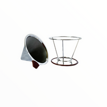 Load image into Gallery viewer, Reusable Coffee Filter (Double-layer, with Stand) | Philippines