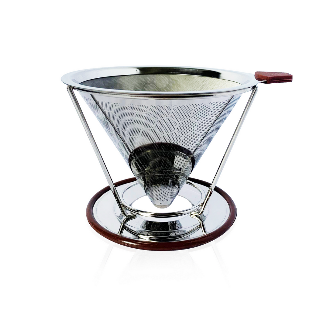 Reusable Coffee Filter (Double-layer, with Stand) | Philippines