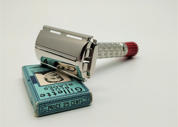 Vintage safety razor restoration service
