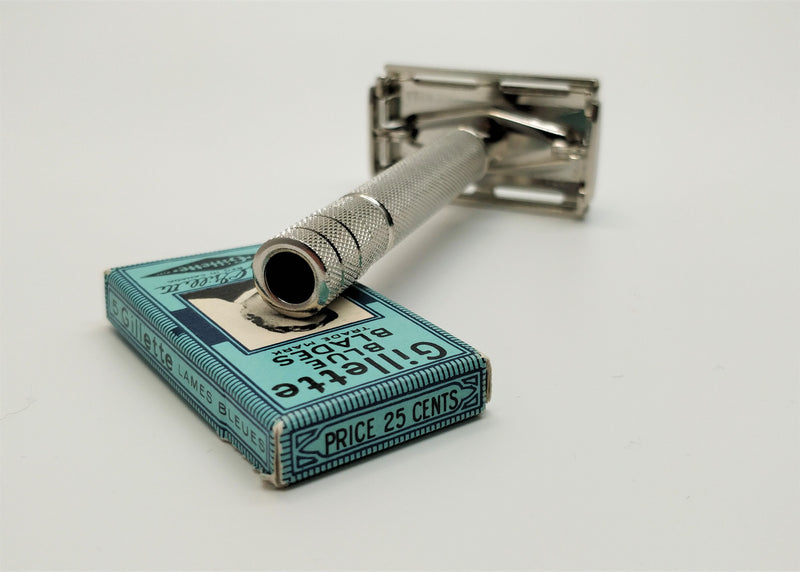 Gillette SS Super speed Z 1 - 1954 restored and replated vintage safety razor
