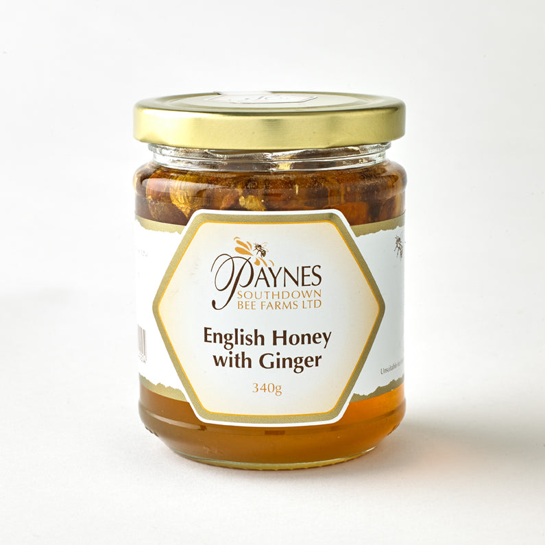 ENGLISH HONEY WITH GINGER 340G
