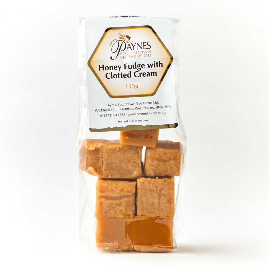 HONEY & CLOTTED CREAM FUDGE BAG