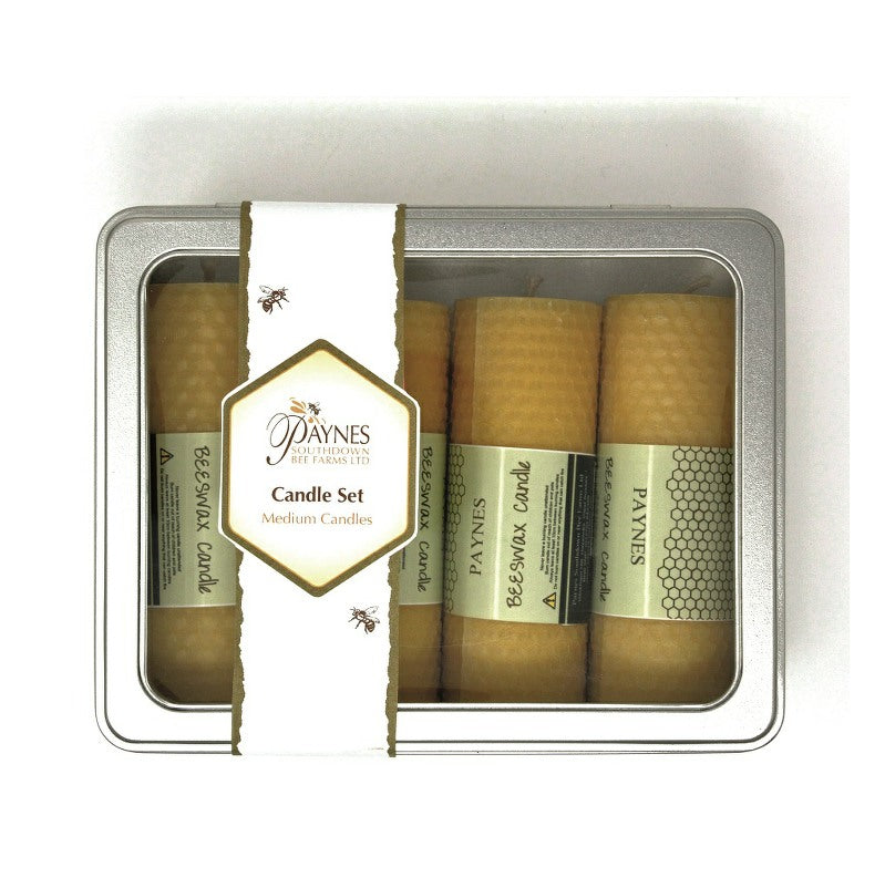 BEESWAX CANDLE SET - MEDIUM CANDLES