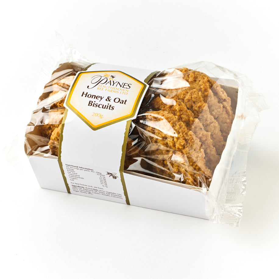 HONEY & OAT BISCUITS (200G)