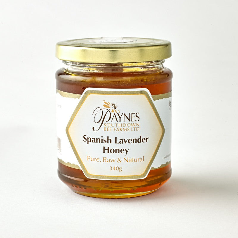 340G SPANISH LAVENDER HONEY CLEAR