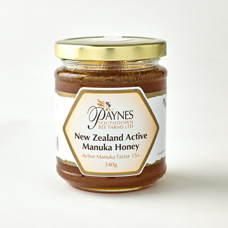 340G ACTIVE MANUKA HONEY 15+