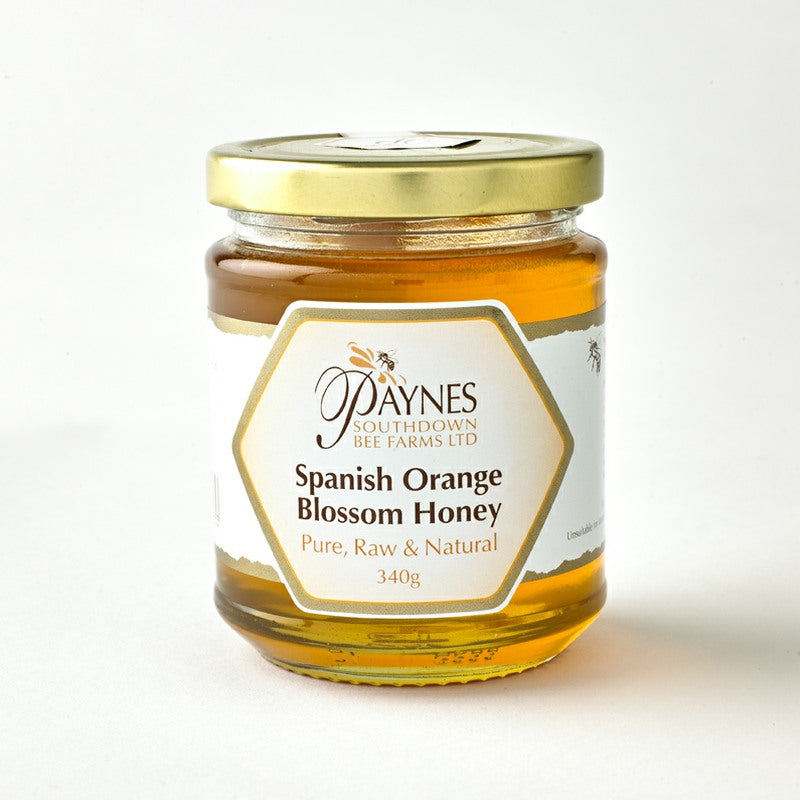 340G SPANISH ORANGE BLOSSOM HONEY CLEAR