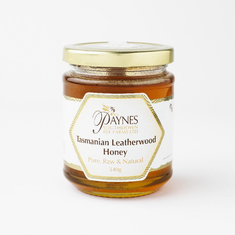 340G TASMANIAN LEATHERWOOD HONEY CLEAR